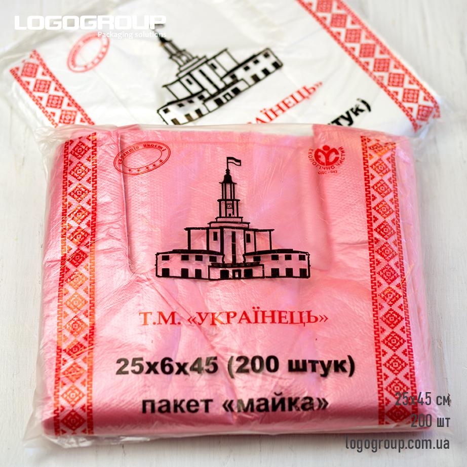 "Т.М. ""Українець"" 25х45см, 400гр"