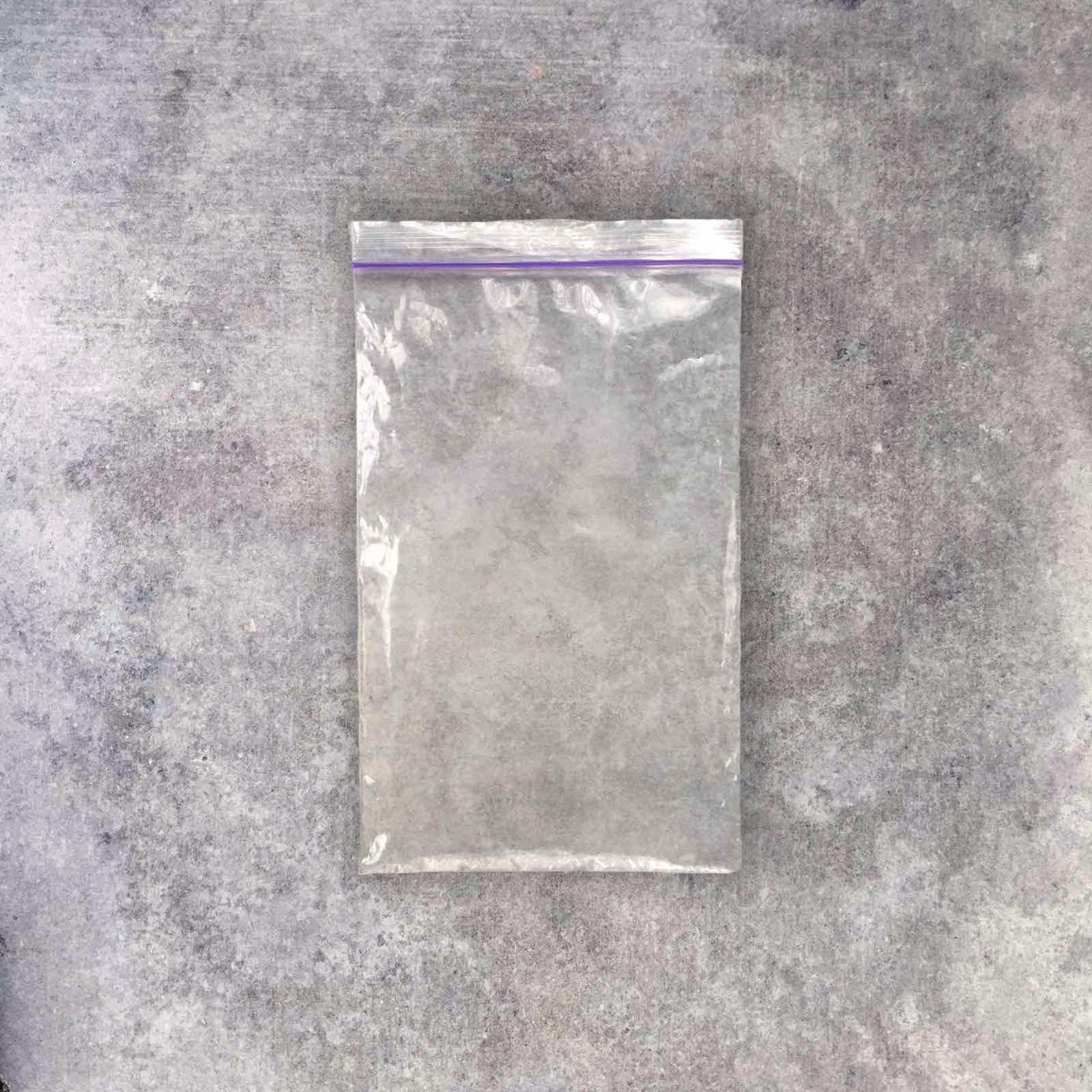 Zip-lock plastic bag