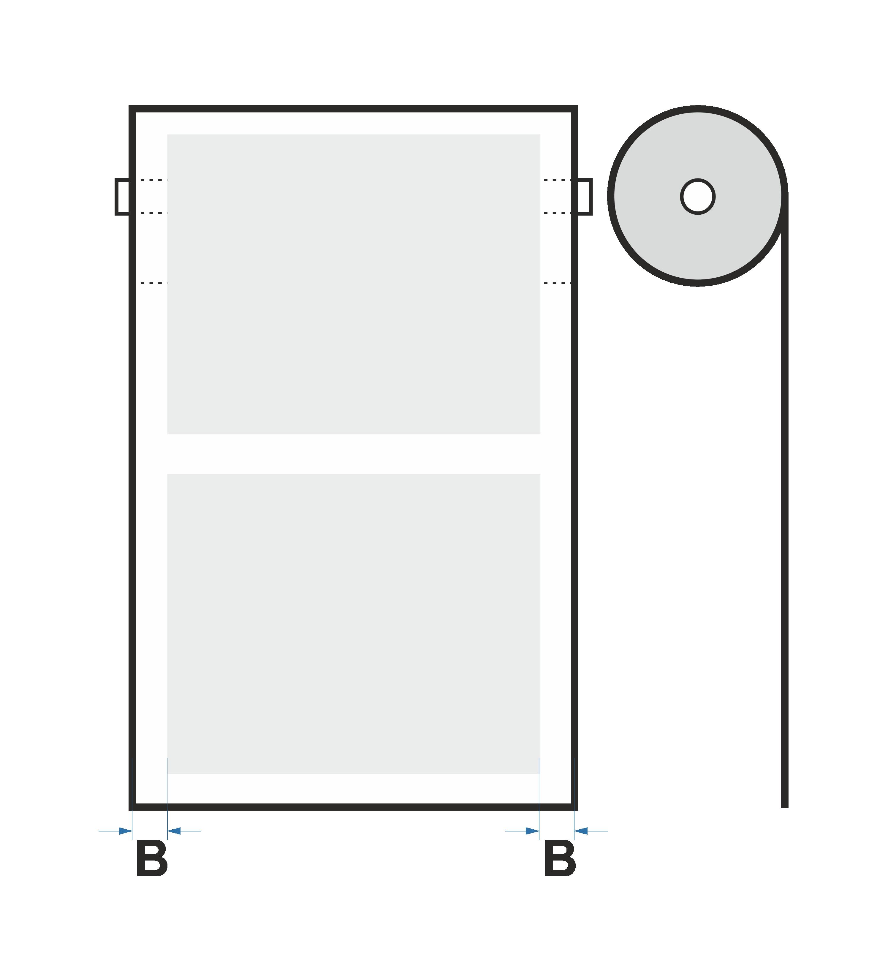 Packaging film in roll (PE)